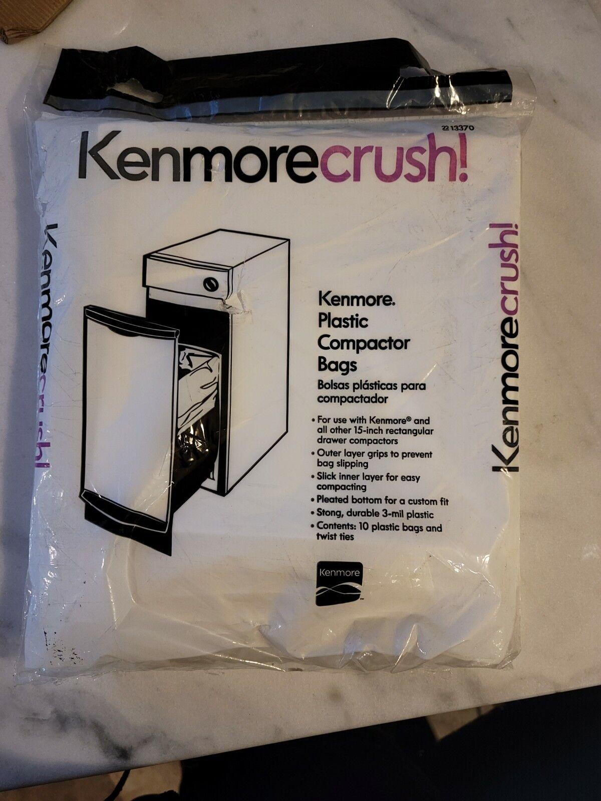 OEM Kenmore 13370 Trash Compactor Bag 10-pack Genuine Original Equipment Manufacturer Limited Edition Part