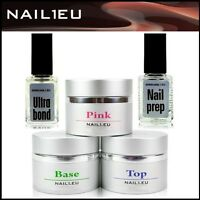 Pro Set For Nail Design: Construction-gel, Haft-gel, Sealing Gel 3 40ml+liquid
