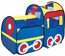 Play Tent Hut Indoor Outdoor - Cute Train for kids Boys Girls