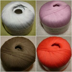 Adrienne-Vittadini-Alexa-Cotton-Ribbon-Yarn-Color-Choice-FREE-SHIPPING