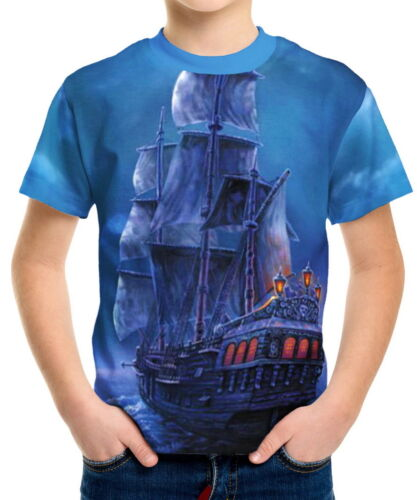 Chasing The White Whale Boys Kid Youth T-Shirts Tee Age 3-13 ael40454