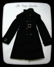 1/3 Dolls Long Coat Black fit Volks BJD Super Dollfie Dream DD SD