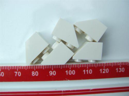 5 X Lego Teja De Blanco 1X2 Inv 366501 partes y piezas de