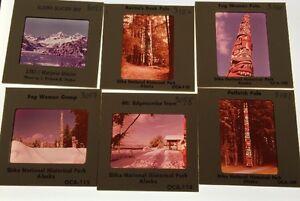 Lot-Of-30-Vintage-Color-Photo-Slides-Alaska