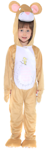Girls Boys Childrens Gruffalo Mouse World Book Day Fancy Dress Costume 3-10yrs