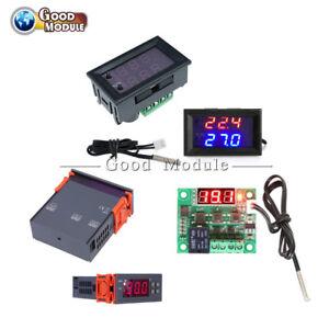 MH1210W-W1209WK-90-250V-10A-Temperature-Controller-Sensor-Thermostat-50-110