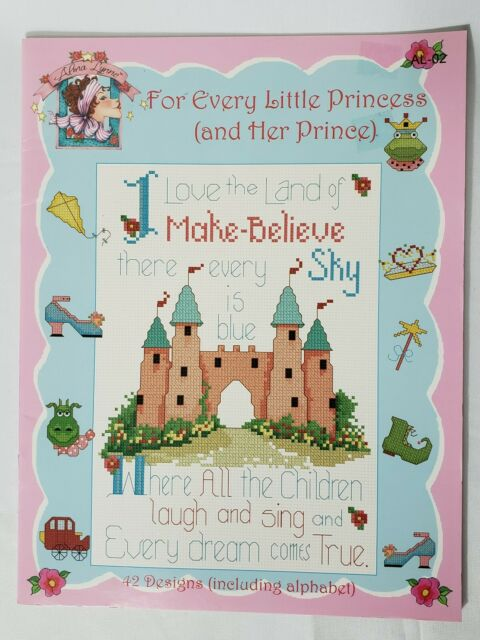 Alma Lynne For Every Little Princess And Her Prince Cross Stitch Pattern Booklet