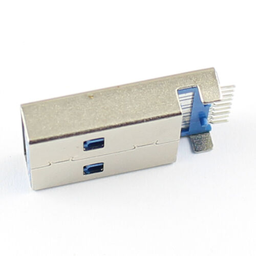 5Pcs USB 3.0 Type A 9 Pin Male Panel Mount DIP USB Connector