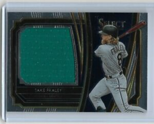 2020 Select Rookie Jumbo Swatch #7 (RJS-JF) Jake Fraley Seattle Mariners