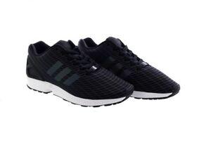 cb459f326251 Image is loading Adidas-ZX-Flux-BB2158-Mens-Trainers-Originals-Black