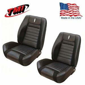 Prime Details About Sport R Deluxe Vinyl Front Bucket Seat Upholstery For 68 Camaro Tmi Made In Us Onthecornerstone Fun Painted Chair Ideas Images Onthecornerstoneorg