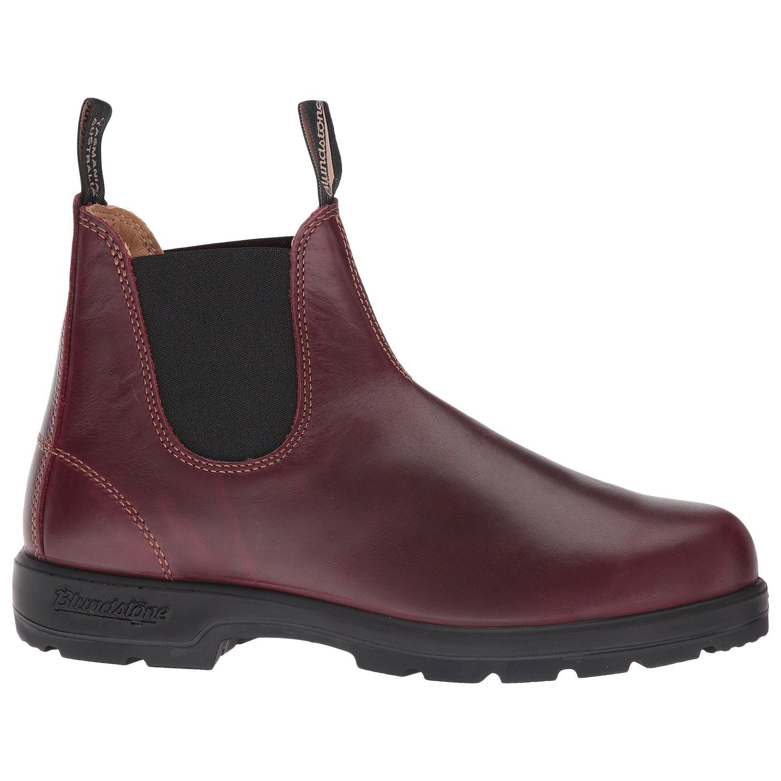 Blundstone 1440 Redwood Mens Leather Slip-on Classic Chelsea Ankle Boots