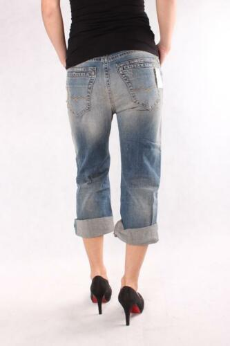 NUOVO Donna Jeans REPLAY wx696 539 346 010 Yvette Boyfit Denim Women Blu chiaro