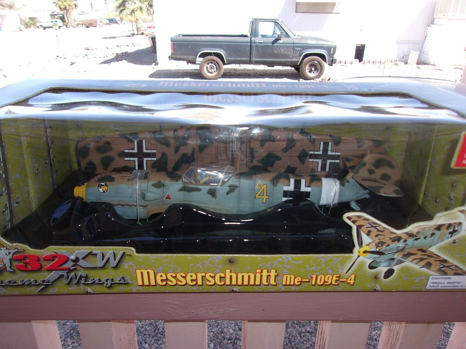 21st Century Spielzeugs Ultimate Soldier 1 32 Messerschmitt Me-109E-4 Wasp Squadron