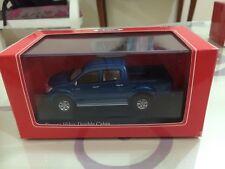 1 pcs 1:43 Toyota Hilux Double Cabin Blue Color