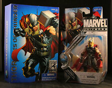 SDCC 2010 Marvel Universe THOR God Of Thunder SEALED BOX IN PLASTIC IN STOCK