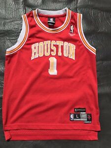 new product b9c9f b6634 Details about Houston Rockets Jersey Tracy McGrady Hardwood Classic 71-72  Kids Large Harden CP