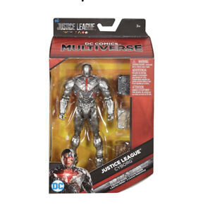 Cyborg Action Figures 6 in DC Comics Multiverse Ages 3+