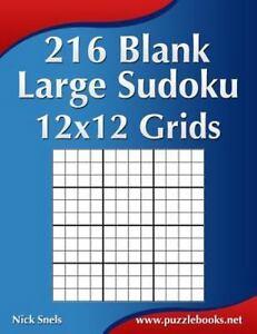 blank sudoku grids ser 216 blank large sudoku 12x12 grids by nick