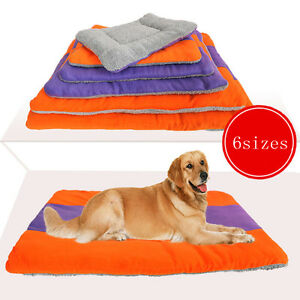 56*40cm Fleece Pet Dog Cat Puppy Bed Mat Pad Kennel Cushion House L Size