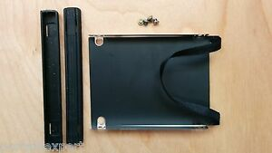 IBM-Lenovo-Thinkpad-R60e-GENUINE-Hard-Drive-Caddy-Rubber-Mounts