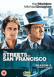 1 of 1 - The Streets Of San Francisco - Series 2 (DVD, 2009, 6-Disc Set, Box Set)