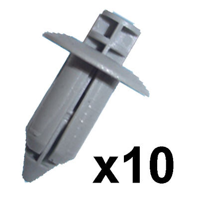 50x Citroen 8mm Plastic Rivet Trim Clip Bumper Grille Carpet Lining Upholstery