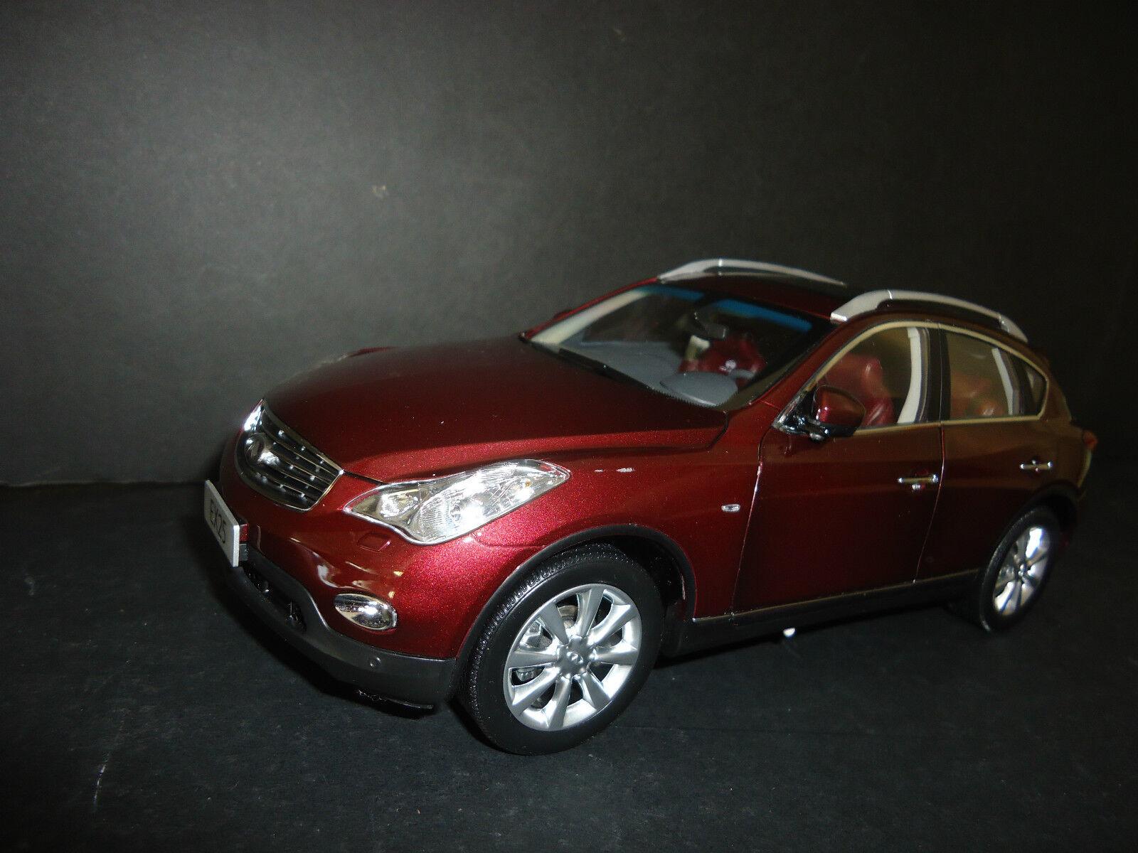 Paudi Infiniti EX25 2012 Burgundy rot 1 18 hoch Quality Modell
