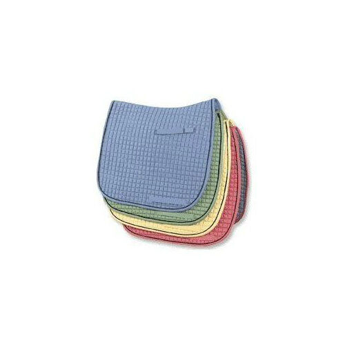 PRI Dressage Cotton Quilted Saddle Pads - Multiple colors