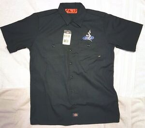 New Custom Dickies Black Embroidered Sexy Lady Ford Logo