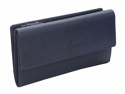 The Chesterfield Brand Dahlia Flap Wallet Geldbörse Navy Blau Neu Mild And Mellow