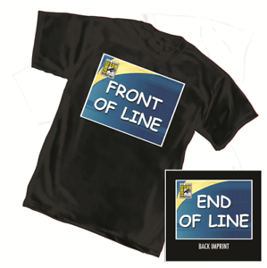 San Diego Comic Con SDCC @HOME Front / End of Line Shirt MEN'S S M L or XL