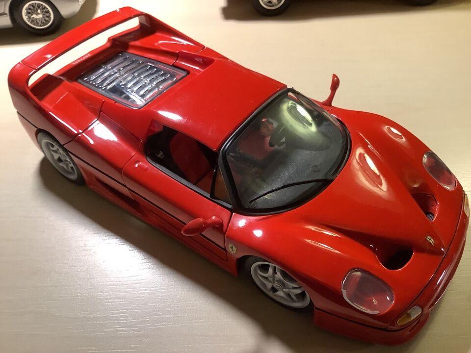 Modelbil Ferrari F 50 Coupe , skala 1:18