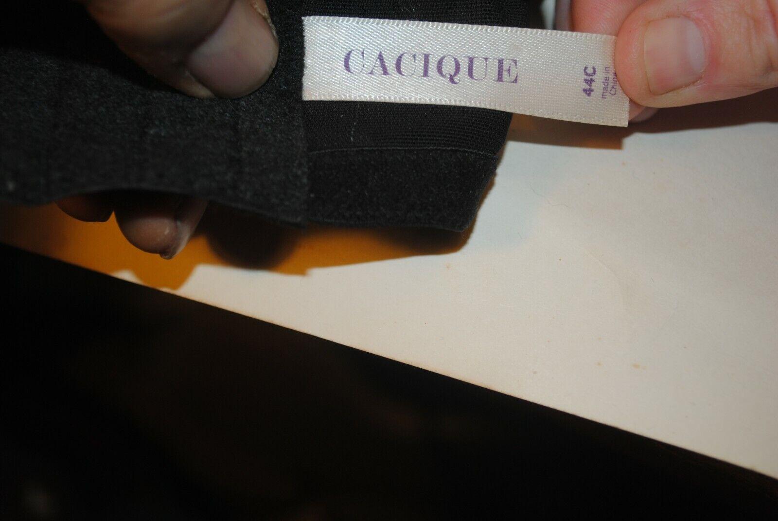 Cacique Brand 44C Black Ladies Brassiere - image 6