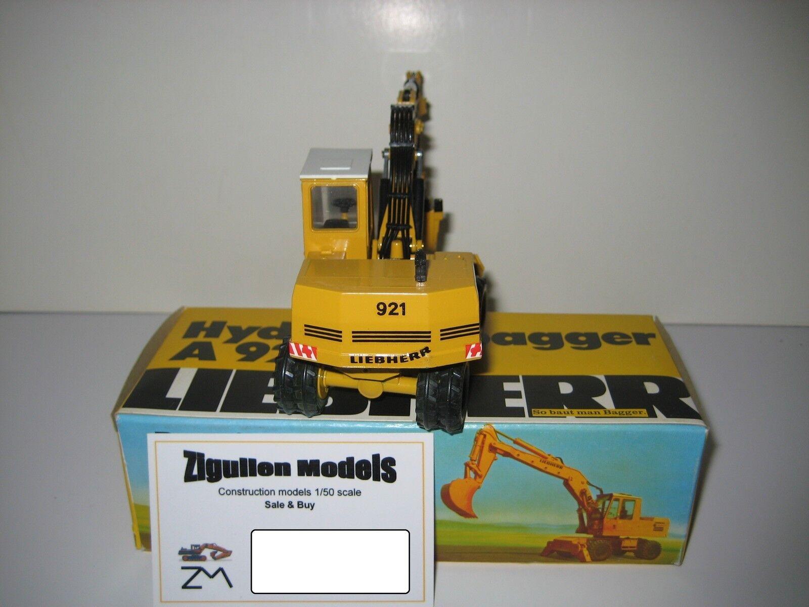 Liebherr a 921 921 921 serie b excavadoras profundamente cuchara mobil  2820.8 Conrad 1 50 OVP 6b8ed0