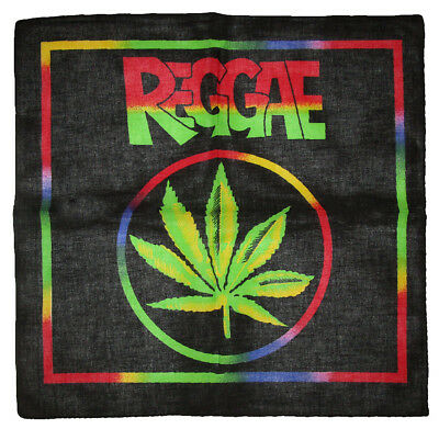 "Wholesale Lot 6 Jamaica Weed Marijuana Cannabis 100/% Cotton 22/""x22/"" Bandana"