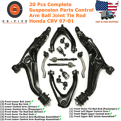 2014 Fits Chevrolet Silverado 1500 Front Right Upper Suspension Control Arm and Ball Joint Assembly With Five Years Warranty Package include One Assembly Only