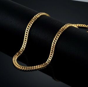 collier or 24k homme