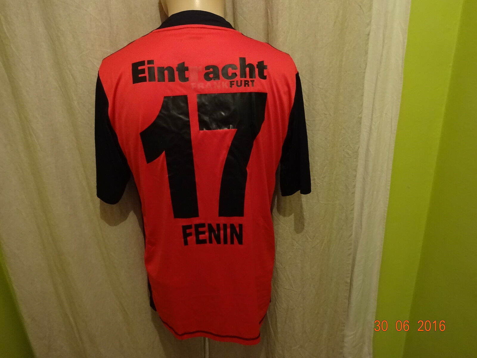 Eintracht Frankfurt Jako Matchworn Trikot 2009/10