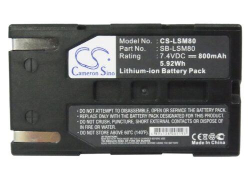 Batería Li-ion Para Samsung Vp-d453 Vp-dc175wb vp-dc172w vp-d364w Vp-dc163 sc-d36