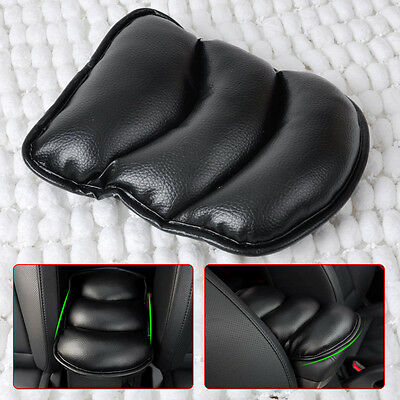 Black Luxury ALL Car Seat Armrest Pad Cushion Memory Foam Padded Support pillow