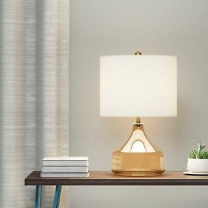 Carson-Carrington-Borup-Glass-and-Linen-Table-Lamp-in-Luster