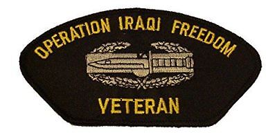 """Army Combat Action Iraqi Freedom 4/"""" Patch"""