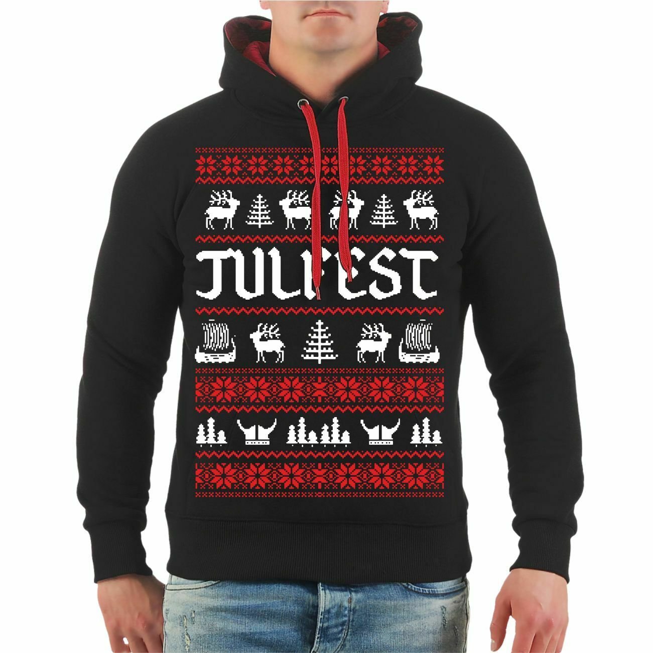 Kapuzenpullover Wintersonnenwende Julfest Julfest Julfest Germanen Weihnachten Geschenk Hoodie    Großer Verkauf    Viele Sorten    Helle Farben  513d9c