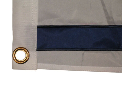 """12x18 Embroidered sewn 2ply 210D Nylon Israel flag 12/""""x18/"""" grommets"""