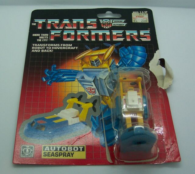 Transformers g1 Minibot Autobot Seaspray Action Figure Doll Reissue New In Card