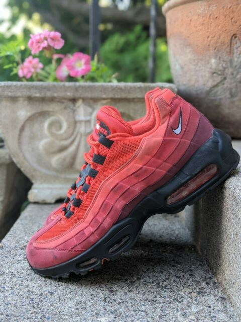 Size 10.5 - Nike Air Max 95 Habanero Red 2019 for sale online   eBay