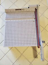 New Listingboston 2612 Heavy Duty Paper Cutter Amp Trimmer 12 Guillotine Arts Amp Crafts