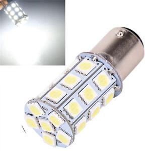 2pcs-12V-LED-1157-White-BAY15D-P21-5W-27SMD-5050-Car-Tail-Brake-Lights-Bulb-BF