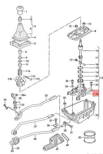 Genuine Bearing For Gearshift Lever AUDI VW SKODA A4 Avant S4 8D0711026B